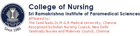 The College of Nursing, Sri Ramakrishna Institute of Paramedical Sciences